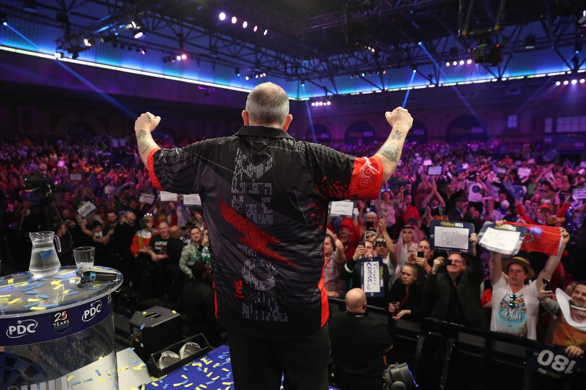 """Toxico"" used by Phil Taylor"