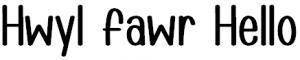 Hwyl Fawr Hello