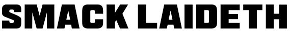 Smack Laideth Down 2019